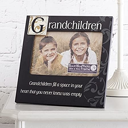 Grandchildren Fill a Space in your Heart Photo Frame - Frames for ...