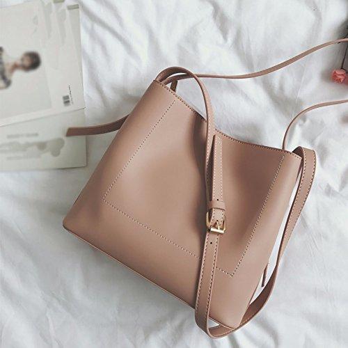Bolso bolsa bolsa ocio simple,Albaricoque Pink