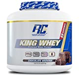 Ronnie Coleman Signature Series King Whey, Leading Whey Protein With Added Whey Isolate, Chocolate Brownie, 5 Pound For Sale