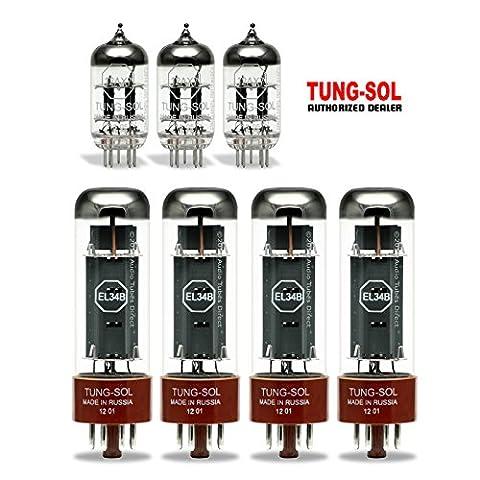 Tung-Sol Tube Upgrade Kit For Marshall 1959 SLP Super Lead, SLPX Amps EL34B/12AX7 (Marshall 1959 Super Lead)