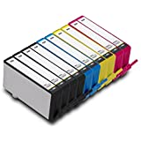 NUINKO 10 Pack Remanufactured HP 920 Ink Cartridge CD971AN CH634AN CH635AN CH636AN for HP OfficeJet 6500 6500a 7500a 6500a Plus 6000 7000 Printers