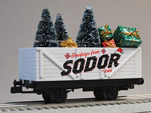 LIONEL Thomas & Friends Christmas SODOR Gondola w/Trees & Presents (Thomas Friends And Presents Christmas)