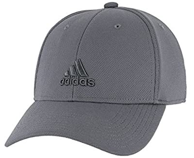 adidas Men's Standard Rucker Stretch Fit, Collegiate Navy/Grey, L/XL from adidas Originals