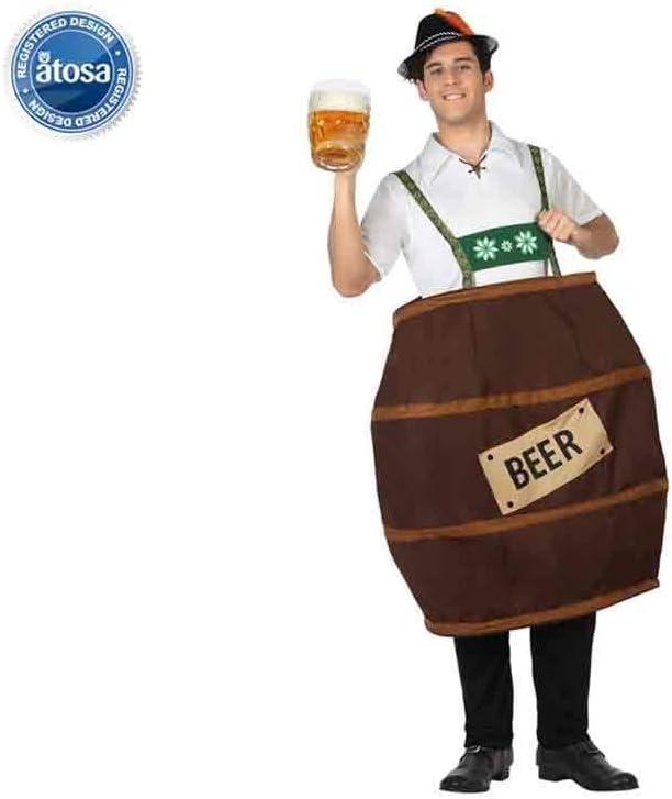 Atosa - 26754 - Disfraz Para Adultos - Barril De Cerveza - T-3 ...