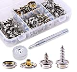 120Pieces Stainless Steel Marine Grade Canvas and