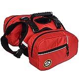 Fosinz Pet Dog Saddle Bag Pack Bag Adjustable Backpack...