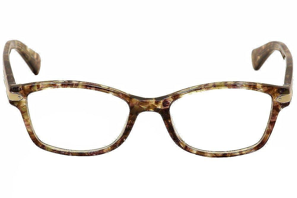 6ec9b64257364 Coach Women s HC6065 Eyeglasses Black Tortoise Tortoise 51mm at Amazon  Women s Clothing store
