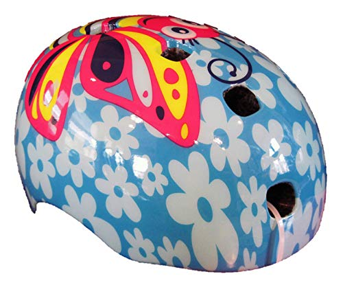 Schwinn Toddler Burst Butterfly Bike Helmet - Blue