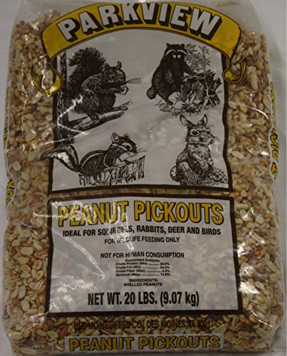 Peanut Pickouts All Natural Wild Bird Food Birds Love 20 lbs