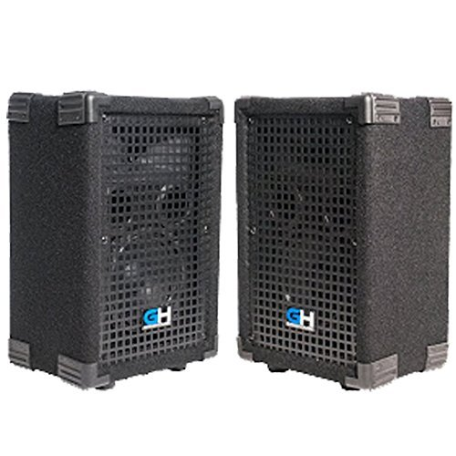 Grindhouse Speakers - GH5L-Pair - Pair of Passive 5 Inch 2-Way PA/DJ Loudspeaker Cabinets - 300 Watt each Full Range PA/DJ Band Live Sound Speaker [並行輸入品] B078HZBHWZ