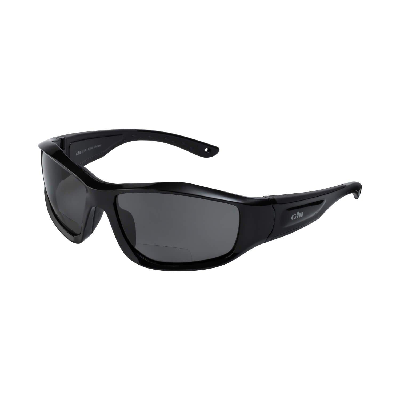 4967b38454 Gill Sense Bifocal Sunglasses Black - Unisex - Integral Flotation -  Hydrophobic and Oleophobic Technology - Lightweight