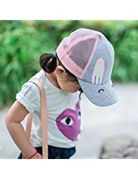Baonmy Toddler Kid Summer Mesh Snapback Outdoor Sun Hat Baseball Cap Girls Sun Hat
