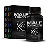 Male UltraCore Male Enhancement Supplements (1 Month Supply) - All-Natural Endurance, Drive & Muscle Growth Booster - 120 caps per Bottle