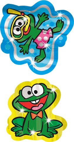 Funny Frogs Foil - 1