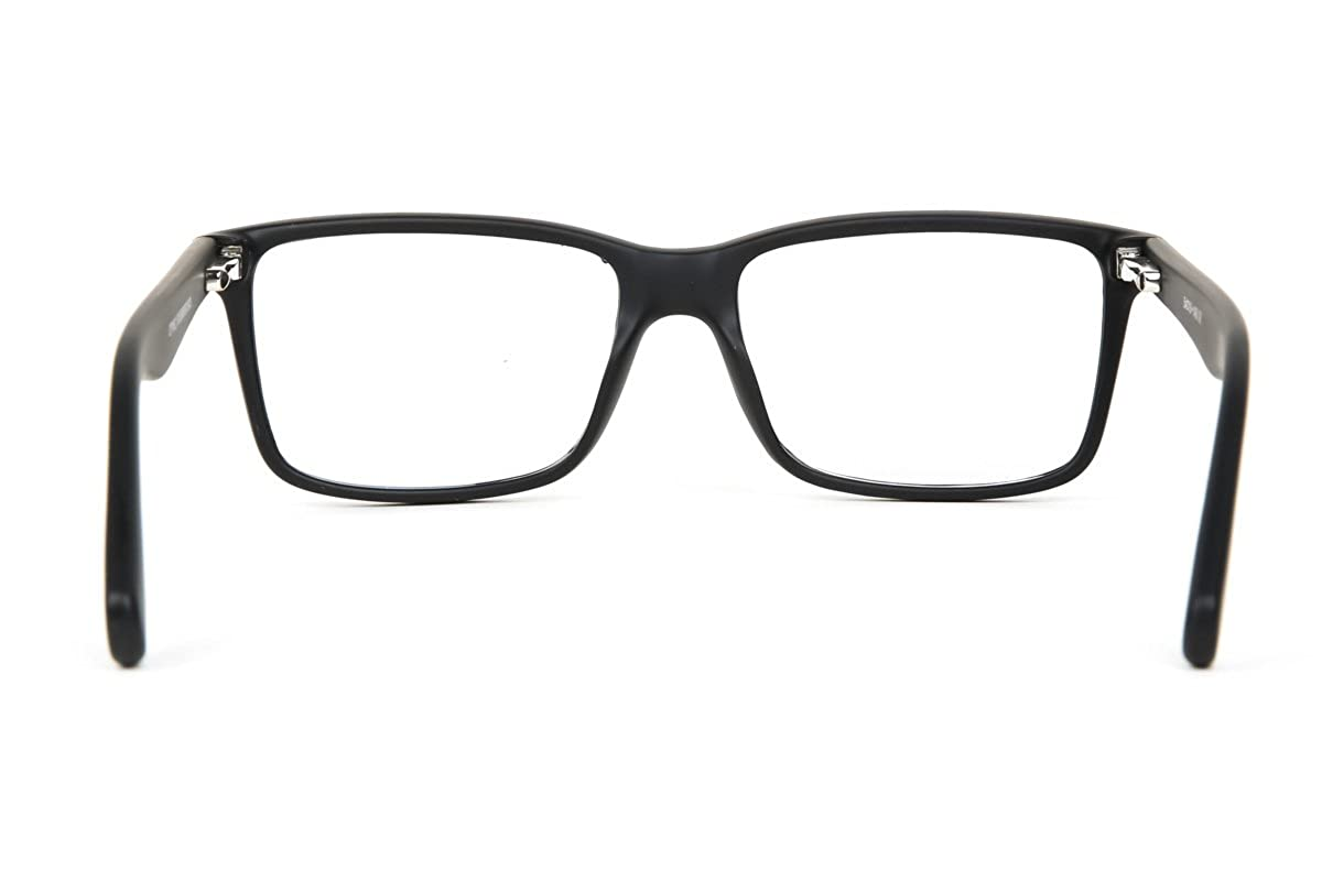 678ddbbb3e SmartBuy Collection Polly Unisex Prescription Eyeglass Frames - Full Rim  Square Designer Glasses Frame - Polly Black at Amazon Men s Clothing store