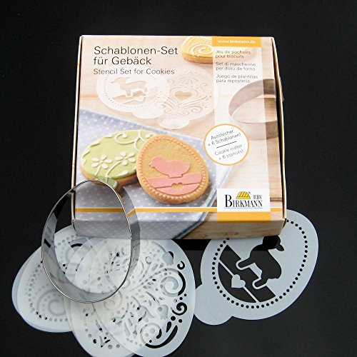 spring-time-cookie-cutter-stencil-set