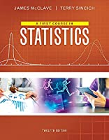 A First Course in Statistics, 12th Edition Front Cover
