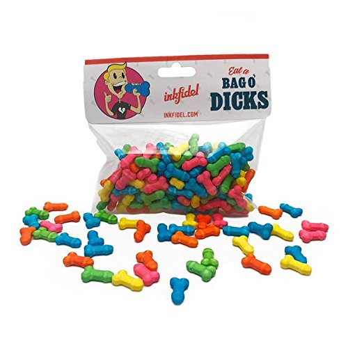 Inkfidel Bag of Dicks Candy Funny Gift USMC Army Marine Veteran