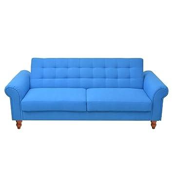 Amazon.com: Festnight Modern Convertible Sofa Bed Fabric ...