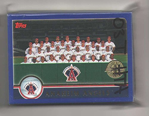 2003 Topps Home Team Advantage (HTA) - ANAHEIM ANGELS Team Set