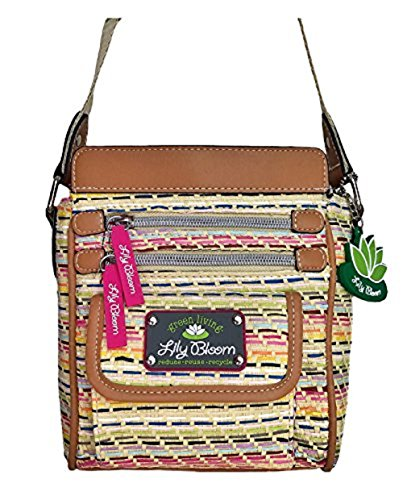 Lily Bloom JAMIE Crossbody Handbag Seaside Dash