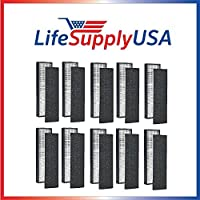 10 Pack - True HEPA Replacement Filter for GermGuardian FLT5000/FLT5111 AC5000 Series, Filter C, Germ Guardian