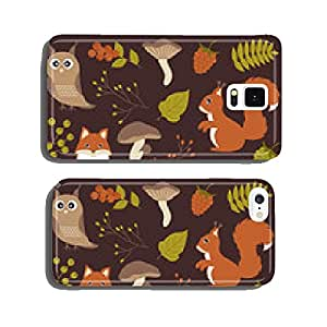 Woodland animals set cell phone cover case iPhone5