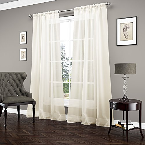(VUE SIGNATURE Sheer Curtains for Bedroom - Carrington 52