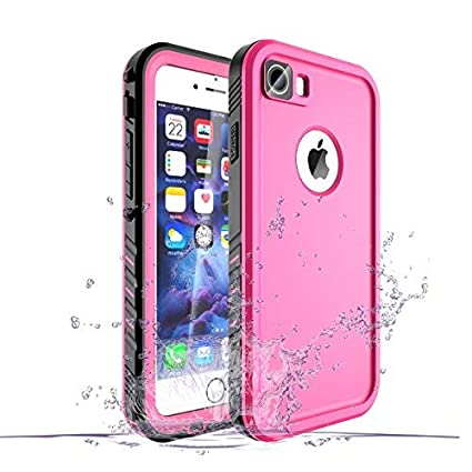 Amazon.com: Carcasa impermeable para iPhone 8 y 7: lycase