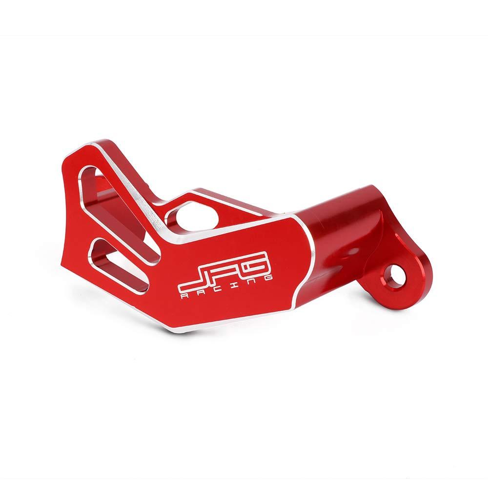 JFG RACING Red Billet Rear Brake Disc Guard Cover Protector For Honda CR125R CR250R 02-07 CRF250R 04-17 CRF450R 02-17 CRF450RX 17 CRF250X 04-17 CRF450X 05-16