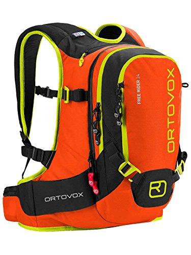 Ortovox Lawinenrucksack Free Rider, Crazy Orange, 53 x 27 x 18 cm, 24 L, 4673200007