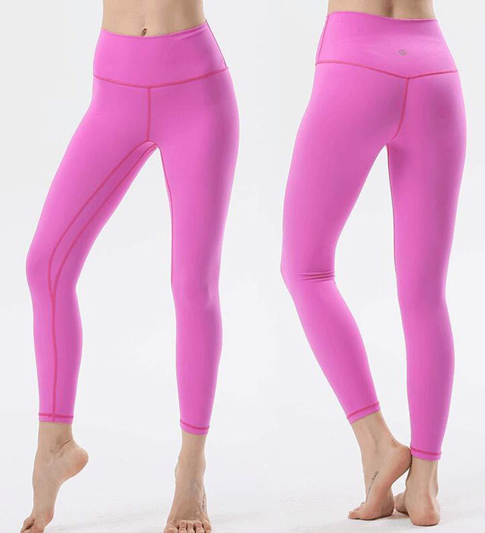 RYFBRE Yogahosen Bewegungs-Laufgeschwindigkeit Tun Yoga-Hosen-Hohe Taillen-Hosen