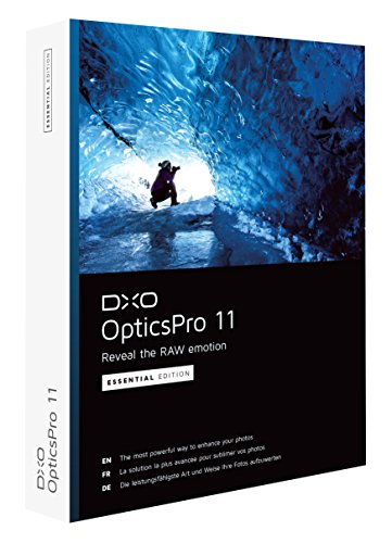 DxO Labs OpticsPro 11 Essential Edition Photo Enhancing Software, DVD