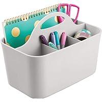 mDesign Organizador de escritorio – Caja organizadora