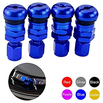 PTNHZ RACING 4PCS Rays Volk Racing Forged Aluminum Valve Stem Caps Tire Wheels Rims: Automotive