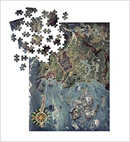 Witcher 3 - Wild Hunt - Witcher World Map Puzzle: Amazon.de ...