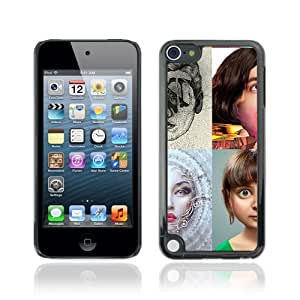 CQ Tech Phone Accessory: Carcasa Trasera Rigida Aluminio Para Apple iPod Touch 5 - POP Art Photo