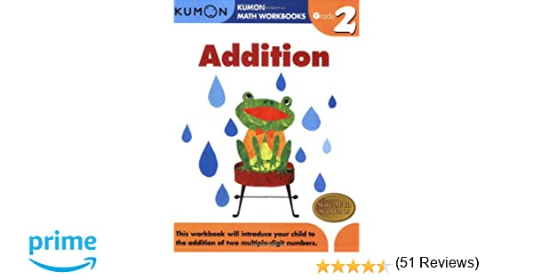 Grade 2 Addition (Kumon Math Workbooks): Kumon Publishing ...