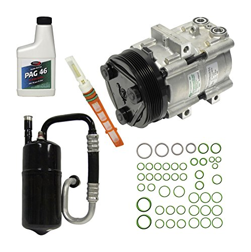 Mazda Tribute Ac Compressor - Universal Air Conditioner KT 1521 A/C Compressor and Component Kit