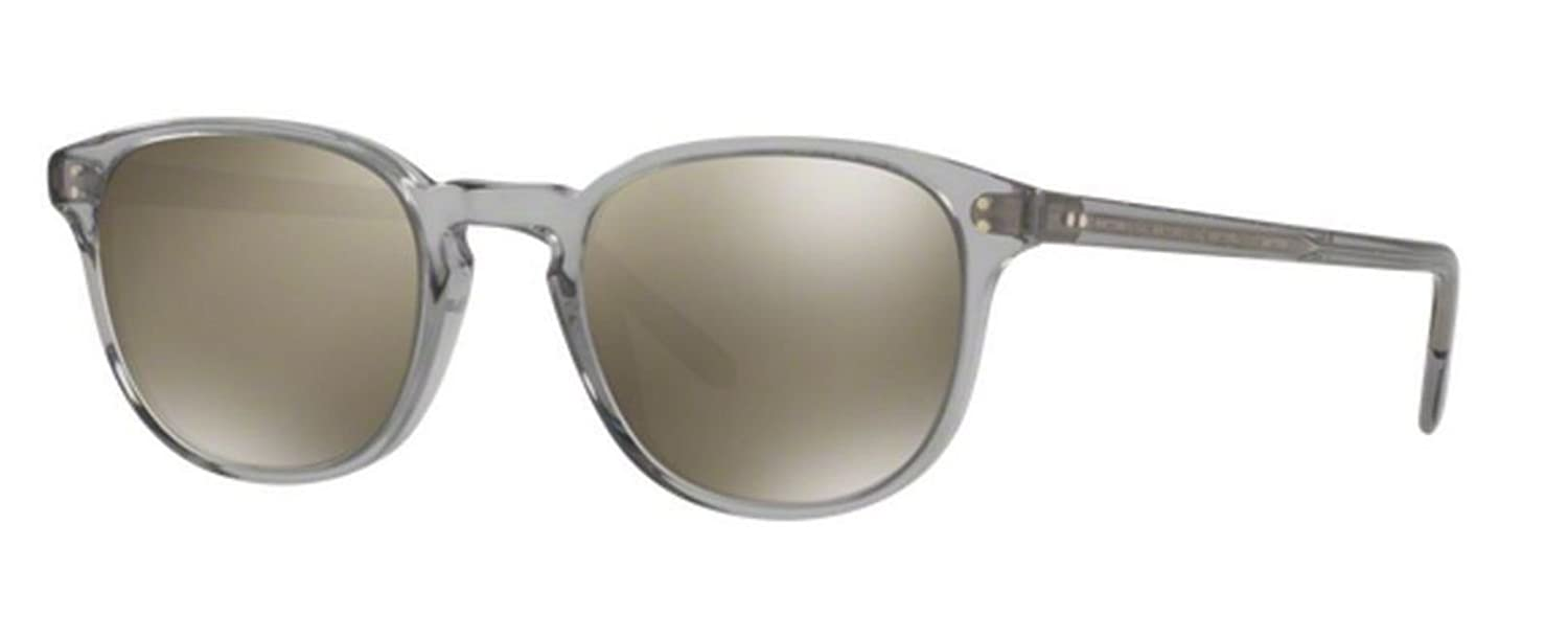 New Oliver Peoples OV 5219S 113239 Fairmont Sun Workman Grey  goldtone Sunglasses