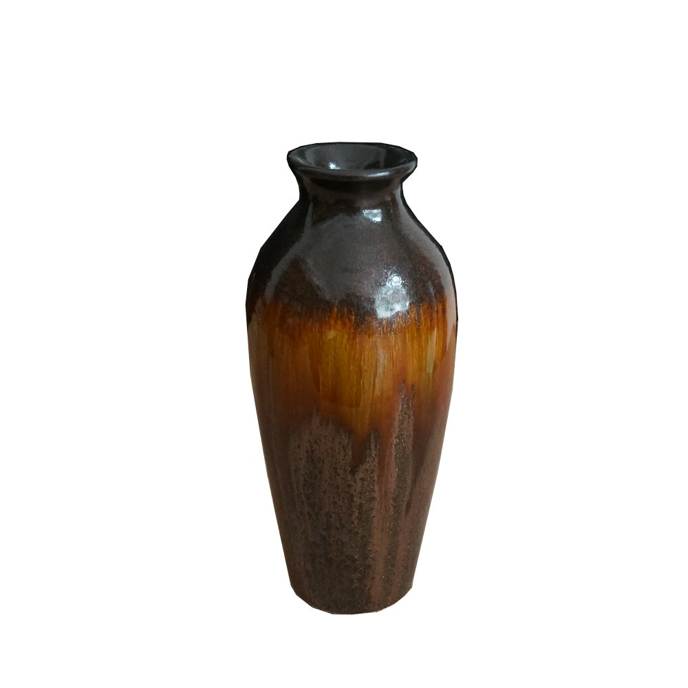 FUYUAN Ancient Ceramic Decorative Vase for Weddings, Party, Home, Spa or Special Occasions 692