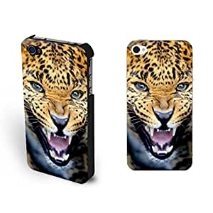 Pretty Awesome Sharp Leopard Eyes Iphone 4 Case Animal Picture Cool Cheetah Design Iphone 4s Case Animal Print for Men