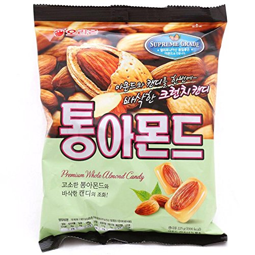 Orion Premium Whole Roasted Almond Candy (Pack of 2) (Whole Roasted Almonds)