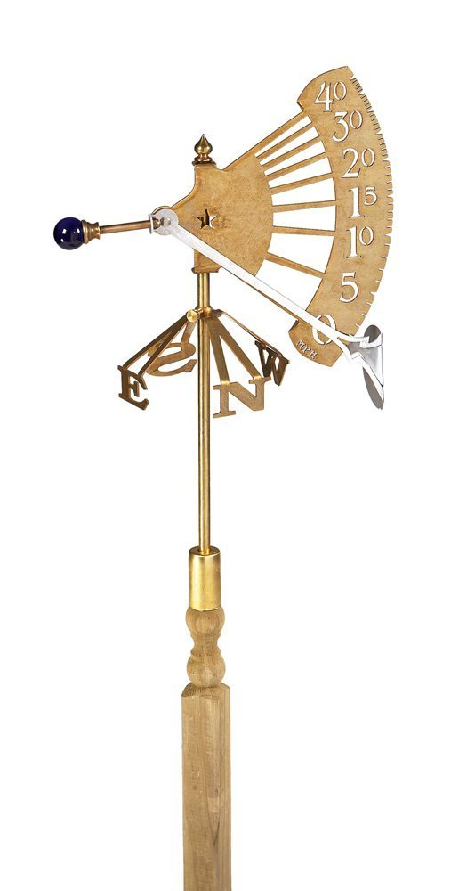 Conant Custom WG1 Jeffersonian Brass Wind Gauge