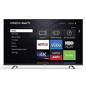Hitachi 55R7 55-Inch 4K Ultra HD Roku Smart LED TV