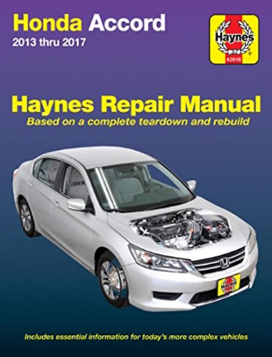Honda Accord, '13-'17 (Hayne's Automotive Repair Manual)