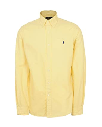 85c7f525 Image Unavailable. Image not available for. Color: Polo Ralph Lauren Men Classic  Fit Twill Dress Shirt ...