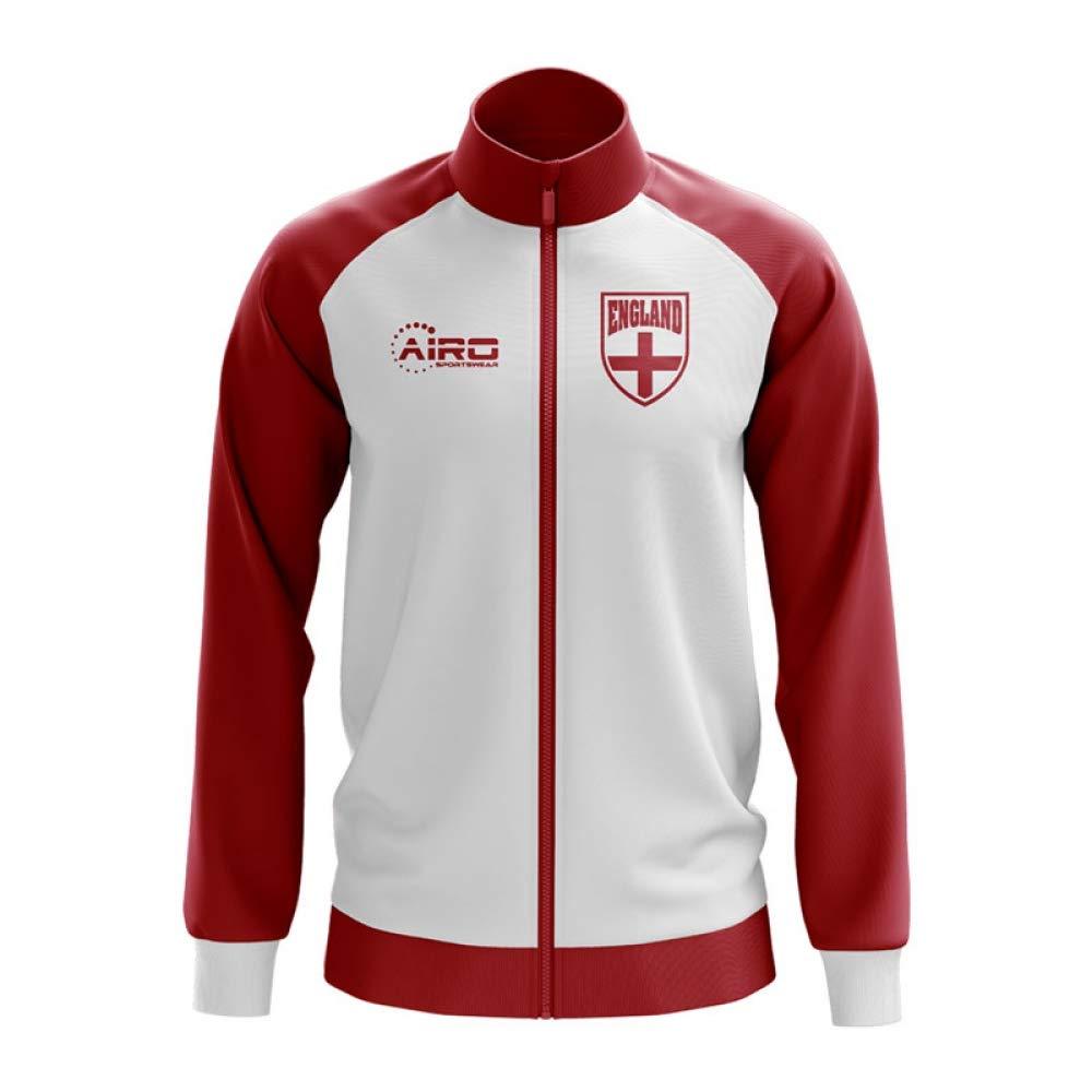 Airo Sportswear England Concept Football Track Jacket (Weiß) - Kids