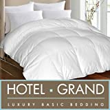 Hotel Grand Oversized Luxury 1000 Thread Count Egyptian Cotton Down Alternative Comforter (King)