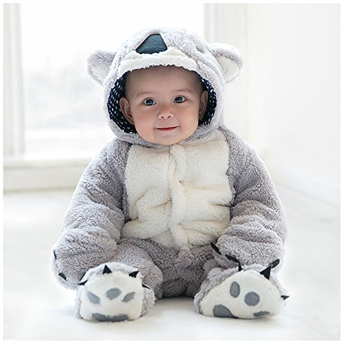 Baby Jumpsuit, MagicQK Infant Costume Toddler Christmas Soft Outfit from Newborn to 18 Months (0-3M/22